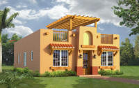 shown in the southwest style - Sw Small House Plans