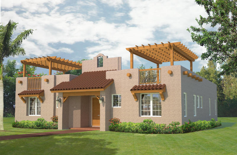 Southwestern home styles House design plans
